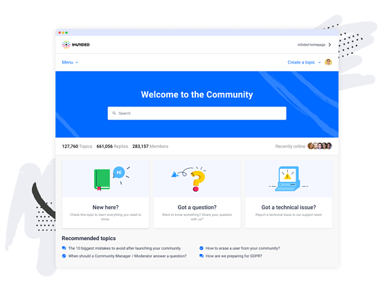 community-screen