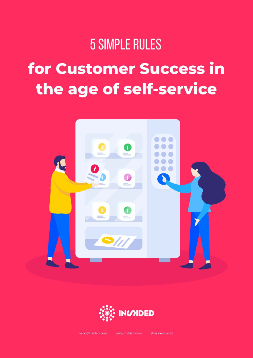 5 Simple Rules for CS in the age of self-service-cover