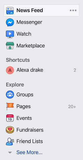 Finding Facebook groups