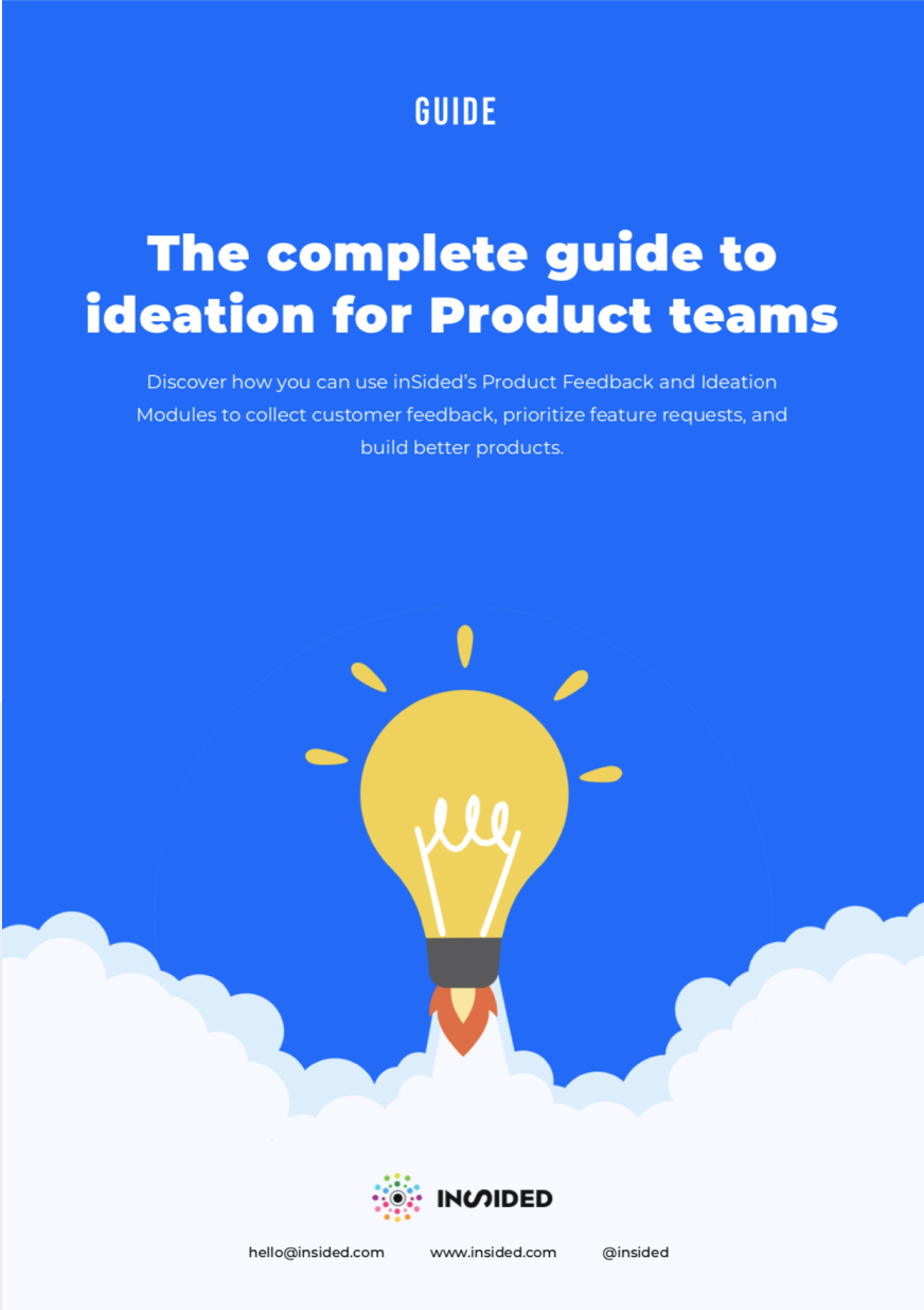 The complete guide to ideation for Product teams_cover