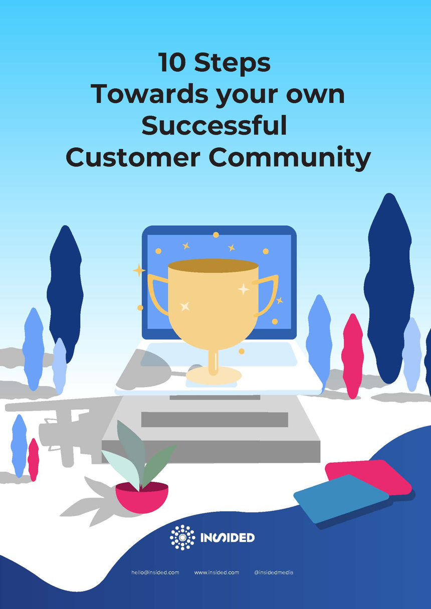 ebook-10 Steps Towards your own Successful Customer Community-cover